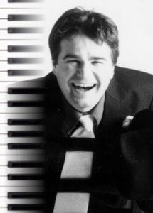 Der Pianist bei keys & strings Musik Comedy